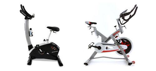 Upright Bike vs Spin Bike