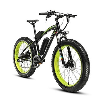 Cyrusher Fat Tire Bike Snow Bike Mountain Bike