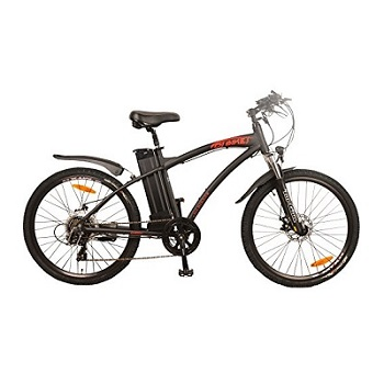 DJ Bikes Mountain 500W 7-Speed Electric Bicycle
