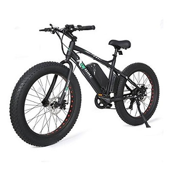Ego Bike Fat Bike Tire Wheel Men Snow Beach Mountain Electric Bicycle