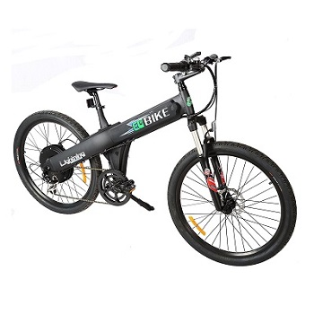 Ego Bike Matt Black Electric Bicycle Mountain