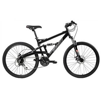 Gravity FSX 1.0 Dual Full Suspension Mountain Bike