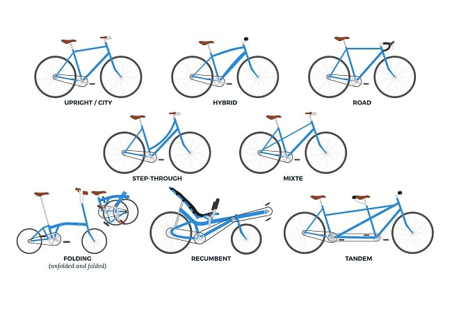 Kinds of Mountain bikes