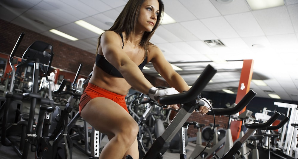 weight you can lose on an exercise bike