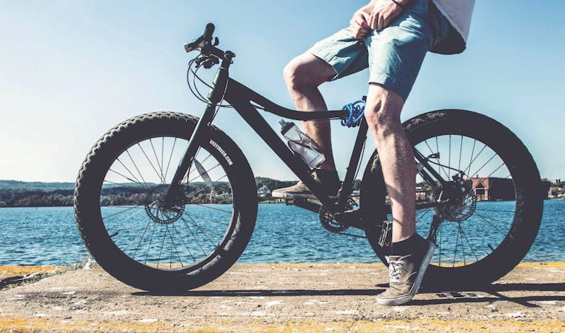 selecting mountain bike